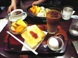 喫茶サンチョモーニング